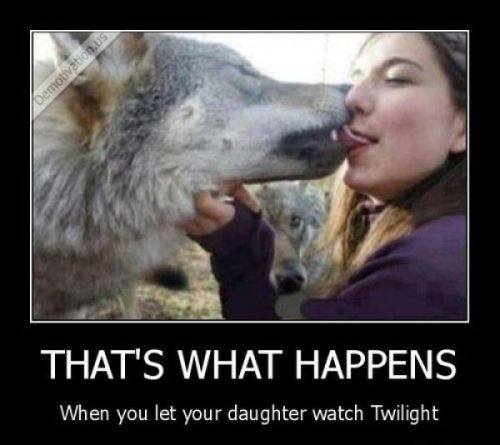 Just another reason I'm glad my kid hates Twilight.