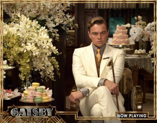 gatsbymovie:  The man in the cool, beautiful shirts.