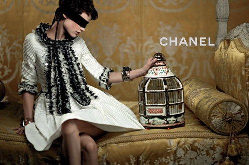 Chanel Resort 2013 was inspired by Marie Antoinette. And then I died.