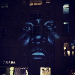 acincinnatikid:  Projected on Prada