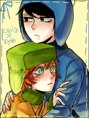 ericfuckingcartman:  South Park : Craig x Kyle by ~sujk0823