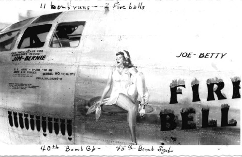 44-61653, 40th BG, 45th BS, Fire Belle