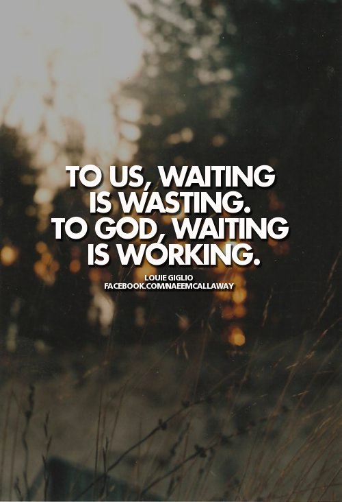 "spiritualinspiration:  Much of life is spent waiting. It's how we wait that makes all the difference. Psalm 5:3 says ""Each morning I bring my requests to you and wait expectantly."" Waiting with expectancy means instead of worrying if God is going to answer a prayer, you're thanking God for working behind the scenes, talking like His miracle is just around the corner, and acting like the answer is on it's way. That's active faith—praising God and having an unshakeable confidence that what He promised He will do!"