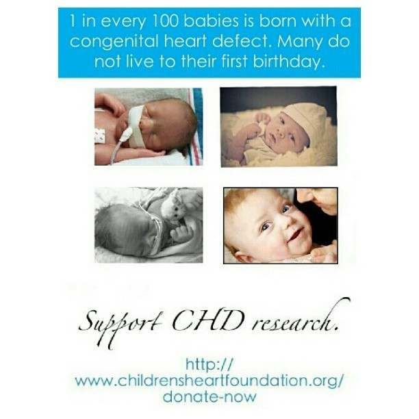 corbinsheart:  Spread the word: #CHD needs more funding!! #heartdefects