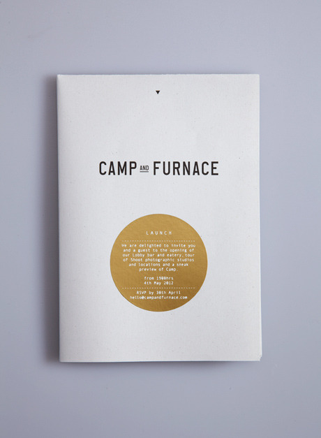 ashortinspiration:  Camp and Furnace A large scale project and collaboration with architects FVMA, Elevator studios and chef Steven Burgess to redevelop a disused series of warehouses in Liverpool's Baltic Triangle. Camp and Furnace is a cultural hub over 34,000 sq.ft comprising events spaces, bar, eatery, nightclub, photographic and location studios, indoor boutique caravan hotel and pop-up retail. More on: smilingwolf.co