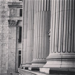 Columns (view from the gym)