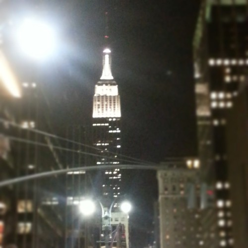 No matter how cheesy it sounds, #EmpireStateBuilding will always be on my mind when someone mentions #NewYork #NYC #SpringBreak #Cheesy #NoFilter @ewj007