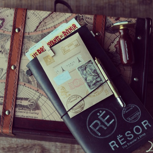 ResorShop is an amazing source for the Traveler's Notebook and accoutrement.  Check out their TN giveaway:   http://blog.resorshop.com/2013/04/travelers-notebook-give-away-4/