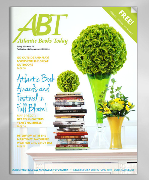 It's here! Read the new edition of Atlantic Books Today for free (click for link). Learn about upcoming Spring titles and the recent contenders for the Atlantic Book Awards.