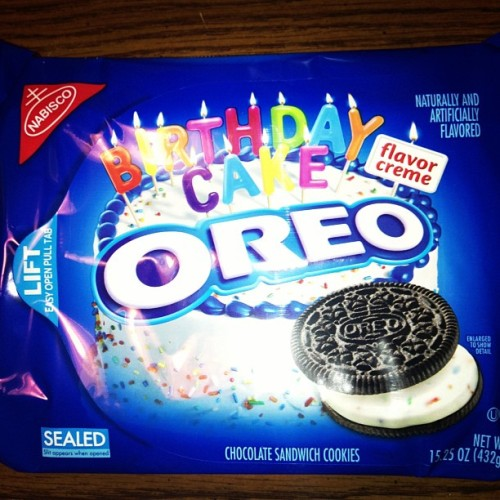 Hell yeah! #oreo #cookies #birthday #cake #yum