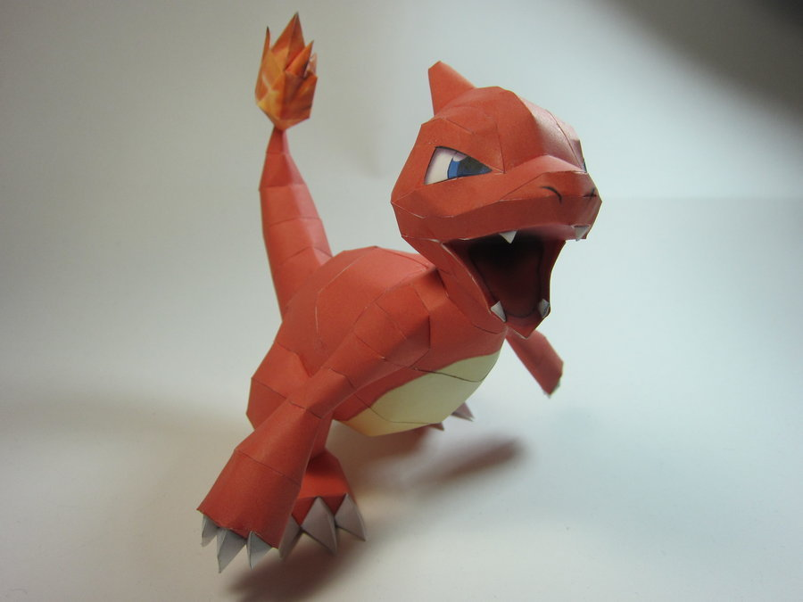 the-wool-to-hide-the-wolves:  Pokemon Papercrafts by KitzenResake
