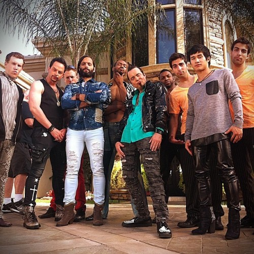 The gentlemen of Gigolo House. #krollshowS2