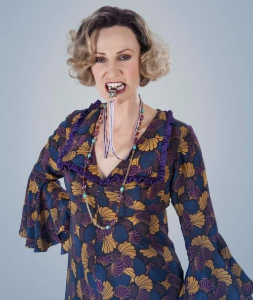 First Look: Jane Lynch as Miss Hannigan