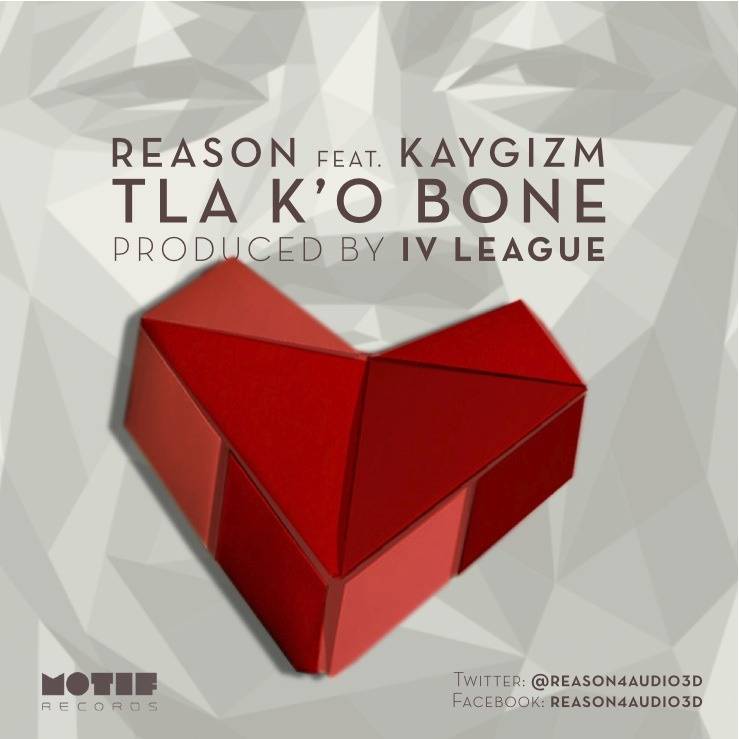 Heads Up: New single from Reason dropping 1pm today. Stay tuned for the free download #TKB