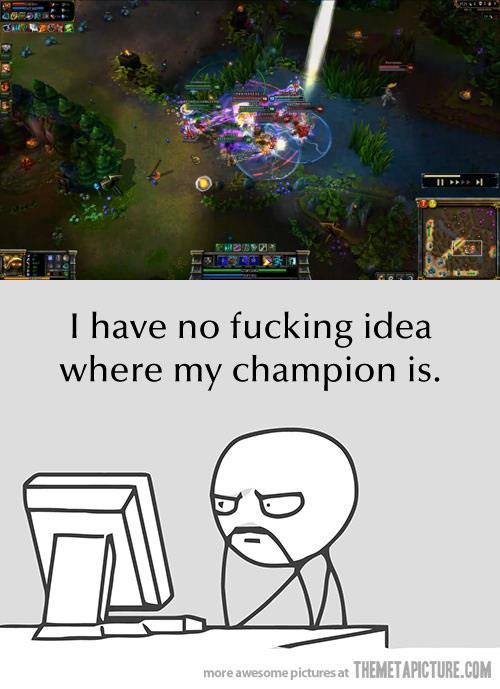 Me every team fight…Loool