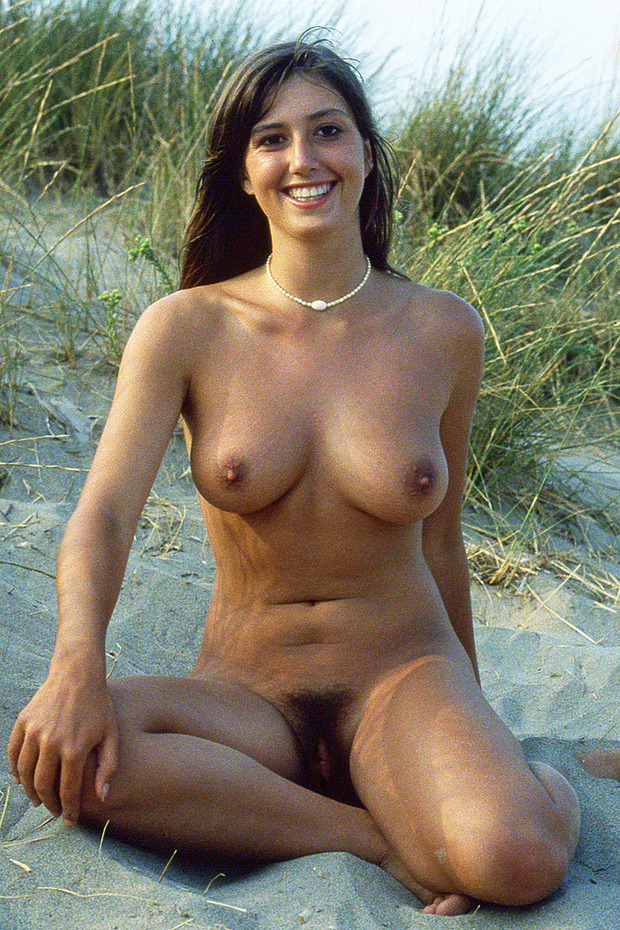 Nude beach big tits hairy pussy