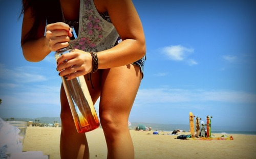 Ciroc on the beach!!