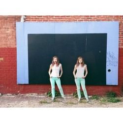 Double Mint Twins (photos by @ashleighpotter, edit by me) (at The Place Dreams Are Made Of)
