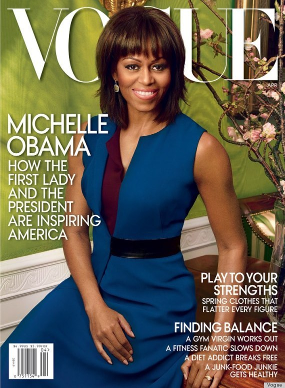 Michelle Obama's Vogue Cover For April