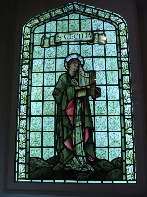 St. Cecilia, by William Morris.