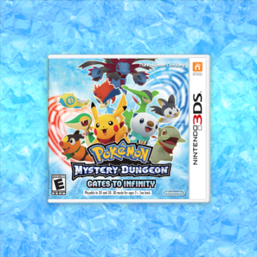 The demo version Pokemon mystery dungeon: gates to infinity is now available in the 3DS E-shop!  The demo contains the first 45 minutes of the game. There is a feature that allows you to use your data from the demo in the full version of the game when you buy it so you don't have to replay the first 45 minutes