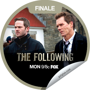 I just unlocked the The Following: The Final Chapter sticker on GetGlue                      6956 others have also unlocked the The Following: The Final Chapter sticker on GetGlue.com                  In the Season 1 finale, Ryan tries to stop Joe before it's too late and Joe takes Claire to a special location. Share this one proudly. It's from our friends at FOX.