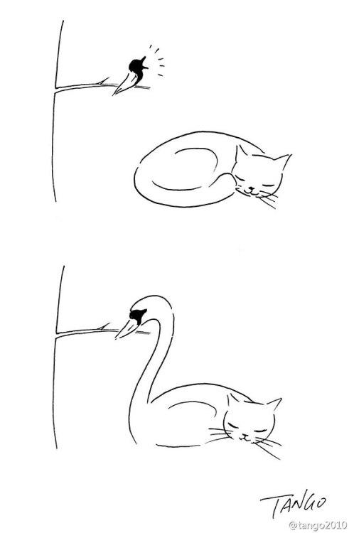 beben-eleben:Simple But Clever Animal Comics By Shanghai Tango