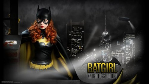 rickjsand:  Barbara Gordon - Batgirl Wallpaper II by *Knightess-Rouge  Aww, hey, thanks for sharing my picture! <3