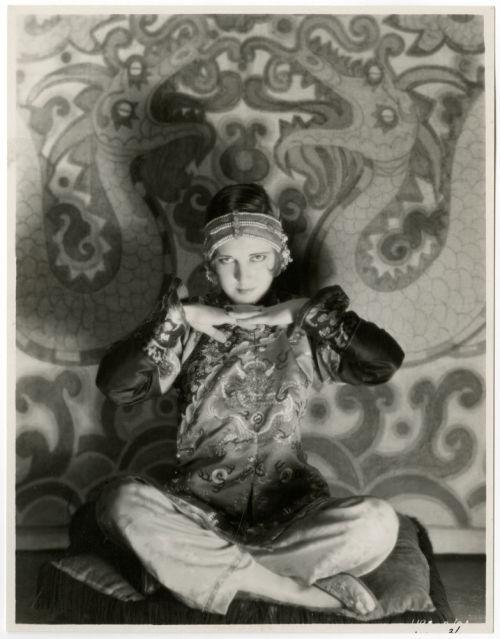Eugene Robert Richee 1929 Jean Arthur Meditation