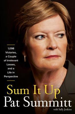 "What to say about Sum It Up? This is a biased recommendation; Pat Summitt is a role model to me and in many ways responsible for the fact that I am a functioning adult, even though I have never met her. I wish I believed in God the way she does, if only so I could pray for her continued strength in the face of early-onset Alzheimer's. I read Pat Summitt's other books dozens of times as a basketball-obsessed teenager growing up in the heart of the Pat-Geno rivalry years. I soaked in her brash perfectionism, awestruck by her work ethic. I didn't know a woman could be like her: harsh, relentless, home to make dinner every night, maternal, throwing clipboards so hard they split, always wearing eyeliner. People talked shit on her constantly in the basketball world in which I played (""too bitchy, too rough, too mean, too intense, terrible clothes"") and that just made me like her more. I knew even as a dreamy teenager that I was never going to play professional ball, but her writing inspired me to try to find something, anything, that woke me up in the morning and made me want to hurl myself into the day. This book gave me the same feeling, plus nostalgia. Many of the anecdotes in this book are in those previous books, some of which I have been revisiting mentally on a regular basis for years, which I didn't realize until I read them again. (One which is not repeated here, but which is a favorite: during her early coaching days, she would hit the hardwood with her fist for emphasis so hard and so repeatedly during games that it would FLATTEN her gold wedding ring. At the end of each season she would need to take it into the jewelry shop for repair.) But where in previous books they were in service of points that could easily be molded into presentations for corporations and life coaching, in this book, they are now in the context of a life that Summitt is being forced to sum up much sooner than she wants to. Each chapter begins with a snippet from interviews done after her diagnosis and they are just heartbreaking. Summitt isn't trying to sell the reader anything anymore. She is just trying to say it all one more time while she still can. While this is a no-brainer read for basketball people and feminists, it's also worth noting that Summitt knows more about the game of basketball, and by extension, human psychology, than almost anybody else living. This book is smarter about personnel management than most of the business section. If you manage people at work, you could do a lot worse than lessons from a woman who spent decades convincing young women to work to the limits of their abilities in every part of their lives. It could really be a inadvertent landmark text in management. Look, I know not everybody likes sports, but if we're going to talk about leaning in and female success and the corporate ladder and work-life balance, we should bring Pat Summitt into the conversation. She came from nothing, entered a world that nobody gave a shit about, and built one of the biggest somethings in American sport out of it. (When she started coaching, high school women still played basketball with six girls on the court for each team. Three played offense and three played defense. They were not allowed to cross half court. It was thought, depending on who you asked, that women were too weak, or too clumsy, to exert themselves further. And this was not 1890 or anything. This was the 70s. And this is just the tip of the iceberg in terms of what women's basketball was like at the beginning of her career.)  Pat Summitt is not only the winningest coach in NCAA basketball history and covered in dozens of other personal accolades; she also mentored hundreds of women (every single woman who played for Pat graduated with a degree, and half of women's basketball coaches at this point have the Vols in their pedigree somewhere) and openly worked on balancing her desire to have a family with her burning professional ambitions. She is gracious about every person who has helped her along the way despite all the nonsense that's been thrown at her. She's not perfect, but she has never pretended to be. She's not had time to. She's been too busy working her ass off and loving every second of it. I'm glad that she was able to show us all how."