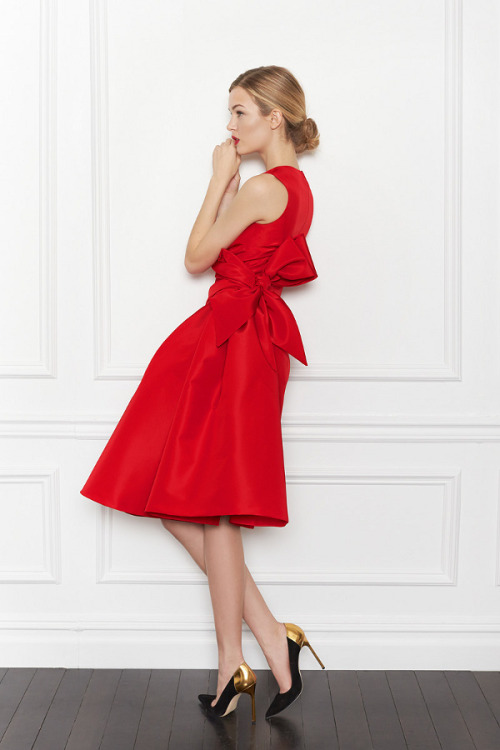 dustjacketattic:  carolina herrera pre fall 2013
