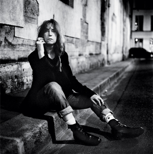 rimbaudwasademonchild:  Patti Smith by Anton Corbijn.