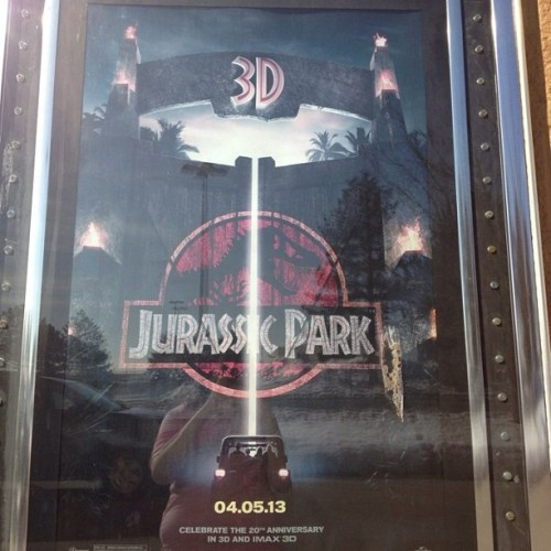 Can't wait for 04-05-13 #jurassicpark #3D who else is excited?