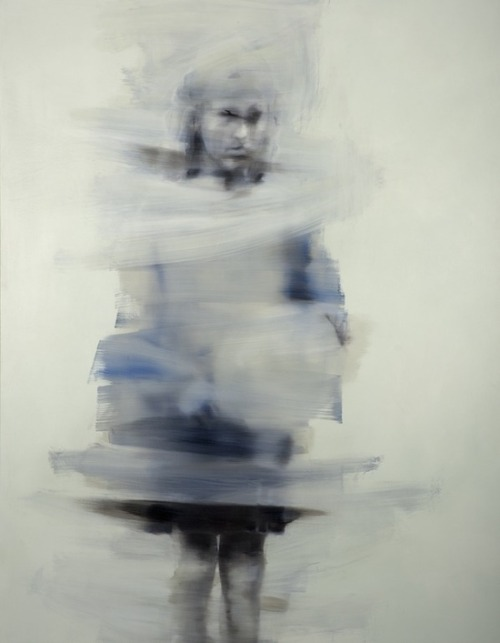 darksilenceinsuburbia:  Pedro Batista. Untitled. Oil on canvas.   Saatchi