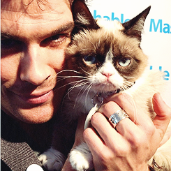 Ian Somerhalder has a new love.
