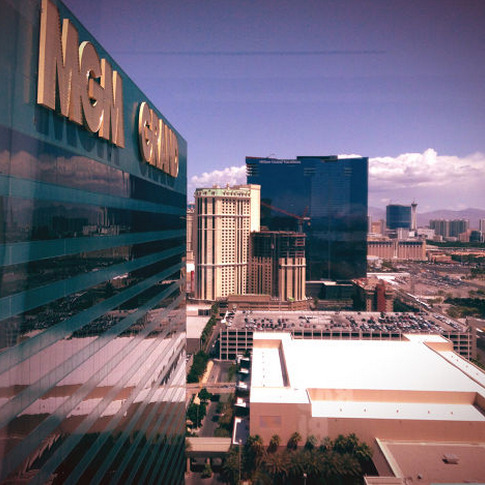 """Morning Vegas!"""