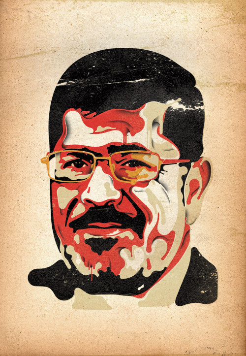 Person of the Year runner-up: Mohamed Morsi, Egypt's President Egypt's new president won kudos abroad and curses at home. What he does next could determine the shape of the Middle East. Read more here. (Illustration by Steve Wilson for TIME)