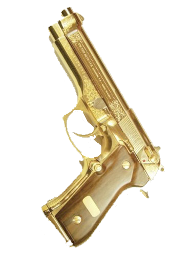 djidgaf86:  Because everyone needs a transparent golden gun on their profile
