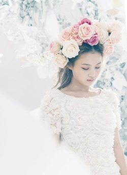 glamourdistrict:  Lee Hi in Rose
