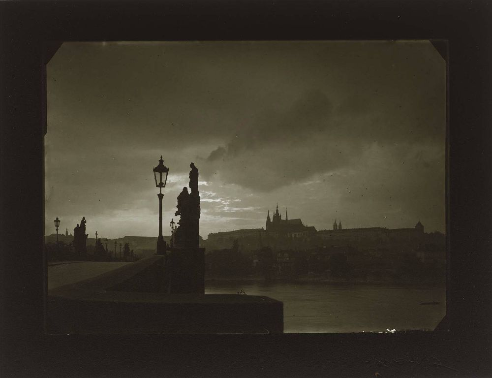 Evening on Charles BridgeJosef Sudek, 1940–50