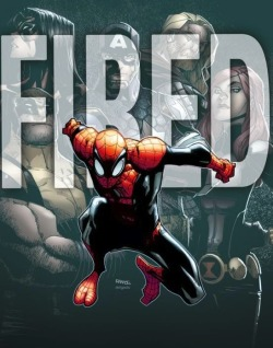 Marvel Shocker: Dan Slott Fired from Superior Spider-Man? Nope, it's just a weak-ass teaser promoting the second arc of the run.
