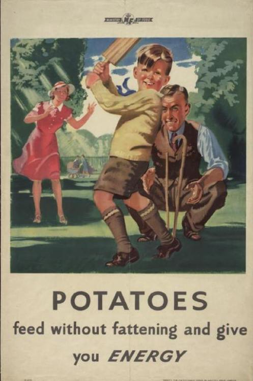 ~ Ministry of Food poster, Great Britain, 1939-1945Imperial War Museum