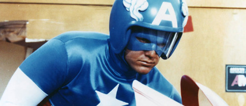 Captain America - Rod Holcomb