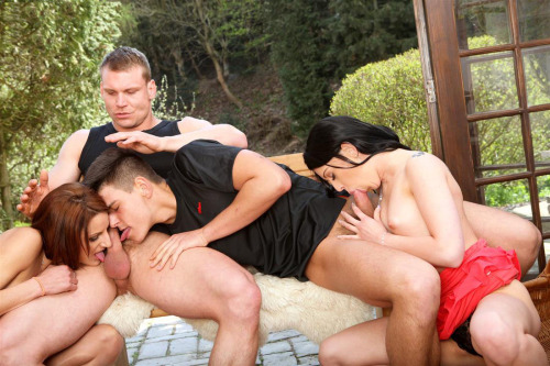 Dirty asian foursome