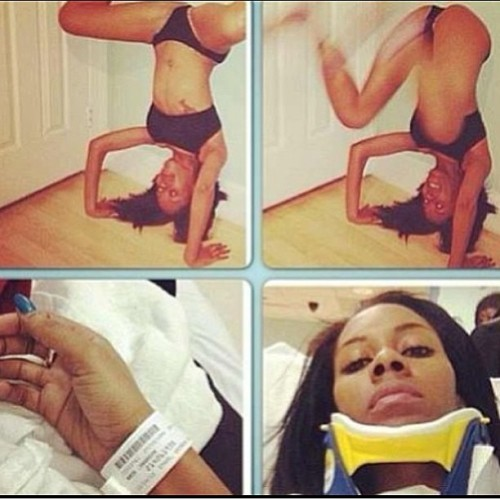 rosaacosta:  Its official : Twerking can be bad for you  Retarded.