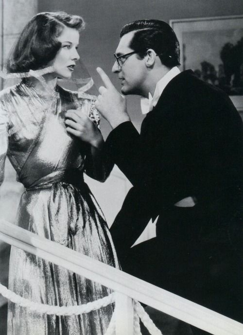 aladyloves:  Katharine Hepburn and Cary Grant in Bringing Up Baby (1938)
