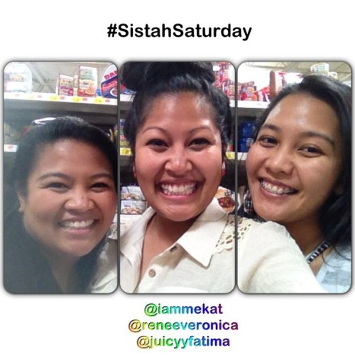 It's Saturday… So you know wat dat means….!!!!! It's #SistahSaturday @reneeveronica @juicyyfatima #tgis #errands #happybirthday #summer #beautifulday #antelope #summerdays #love #family #sistahs #triplets #marvelousmay #potd #picoftheday #130511