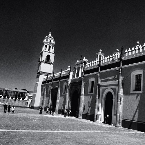 #cholula #puebla #mexico #instamex #mextagram #town #blackandwhite #church #love #instagood #me #tbt #cute #photooftheday #instamood #beautiful #picoftheday #igers #girl #instadaily #iphonesia #follow #tweegram #happy #summer #instagramhub #cartayen #followback