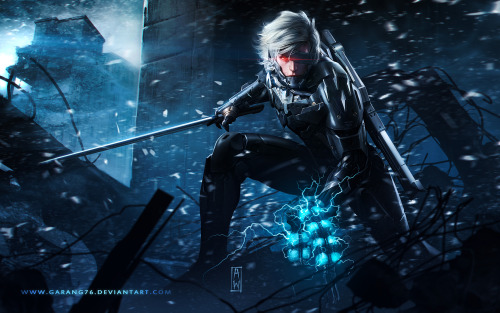 Raiden Metal Gear Revengeance Tribute by *AdmiraWijaya