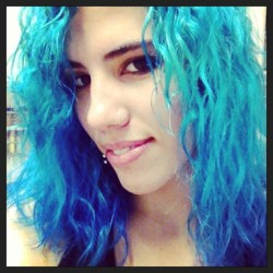 So much blue! #bluehair